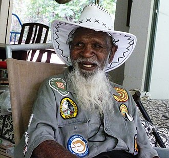 Tommy George - Dr. Tommy George in Cooktown, Queensland, 2011