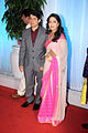 Dr Shriram Nene, Madhuri Dixit at Esha Deol's wedding reception 07.jpg