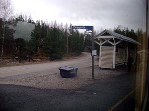 Dragsvik, Finland - Dragsvik railway station