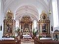 Dreifaltigkeitsberg Wallfahrtskirche Innenraum (Moosthenning).jpg