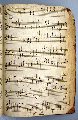 Matthew Locke (composer) - Saraband by Matthew Locke, one of his earliest known keyboard works, found in the manuscript Drexel 5611, a 17th-century manuscript in the Music Division of the New York Public Library
