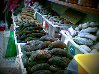 Sea cucumber as food - Dried sea cucumbers