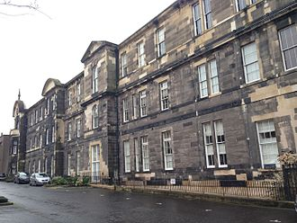 Leith Hospital -  The King Street Jubilee Wing of Leith Hospital, which housed the surgical block