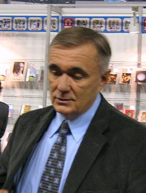 Dušan Kovačević - Dušan Kovačević at the Belgrade Book Fair, 22 October 2007