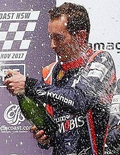 Sebastian Marshall British rally co-driver