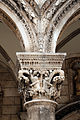 Dubrovnik, palazzo del rettore, portico, capitelli di giorgio orsini 03.JPG