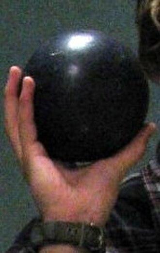 Duckpin bowling - A Duckpin bowling ball