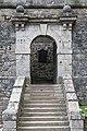 Dumbarton Castle - view entrance gateway from E.jpg