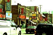 加拿大 多倫多 登打士西街唐人街