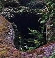 Dunton Cove access, Covenanters artificial cave, Waterside, East Ayrshire.jpg