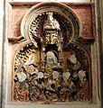 Duomo di utrecht, interno, rilievo quattrocentesco mutilato durante l'iconoclastia 01.jpg