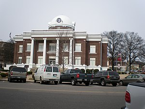 Dyer County Courthouse in Dyersburg