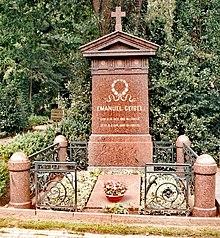 Grabmal auf dem Burgtorfriedhof in Lübeck (Quelle: Wikimedia)