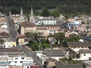 El Ángel, Ecuador - El Angel centre