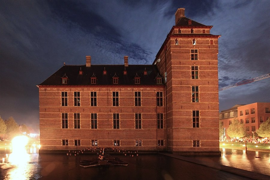 Castle of the Dukes of Brabant in Turnhout, Belgium.