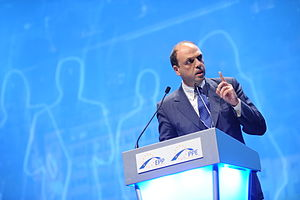Angelino Alfano - Alfano at the European People's Party Congress in Marseille, in 2011.