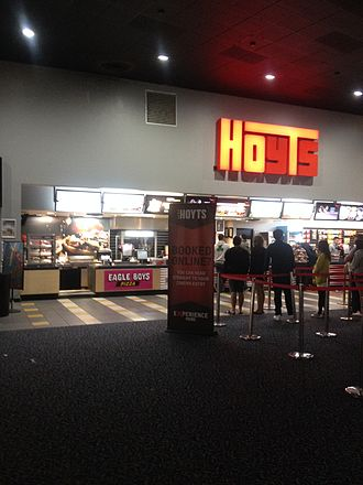 Eagle Boys - Picture of the Eagle Boys Express at Hoyts cinema Belconnen in May 2016