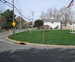 Center of East Freehold at Dutch Lane Road and East Freehold Road
