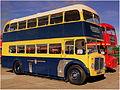 Eastbourne Corporation bus 69 (KHC 369), Showbus 2012 rally.jpg