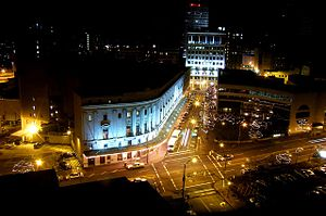 Eastman School of Music - Eastman at night