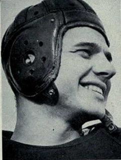Ed Frutig Player of American football