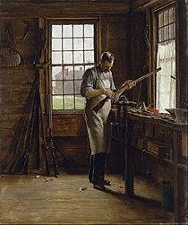 Edgar Melville Ward - The Gunsmith Shop - Google Art Project.jpg