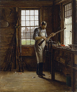 Edgar Melville Ward - The Gunsmith Shop - Google Art Project.jpg