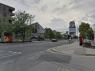 Colindale Human settlement in England
