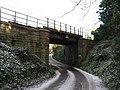 Edinburgh- Carstairs railway line bridge at Baberton Mains - geograph.org.uk - 1065742.jpg