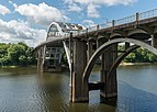 Edmund Pettus Bridge, Selma AL, North view 20160713 1.jpg