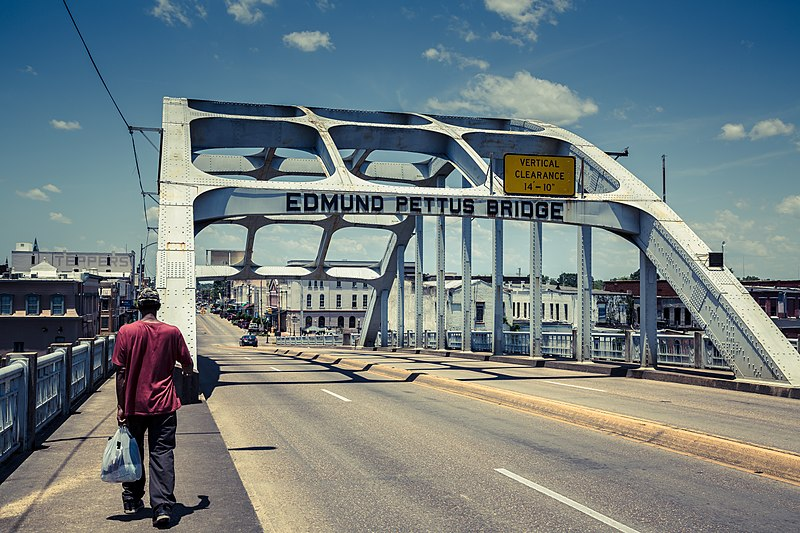 File:Edmund Pettus Bridge - Selma, Alabama (27275175444).jpg