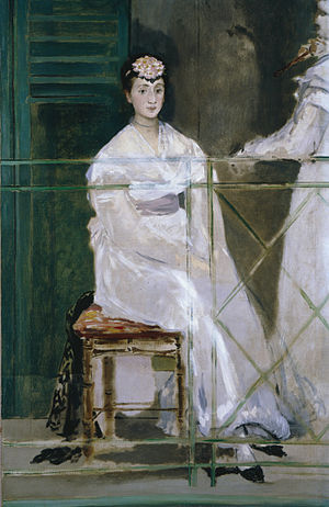 The Balcony (painting) - Image: Edouard Manet Portrait of Mademoiselle Claus