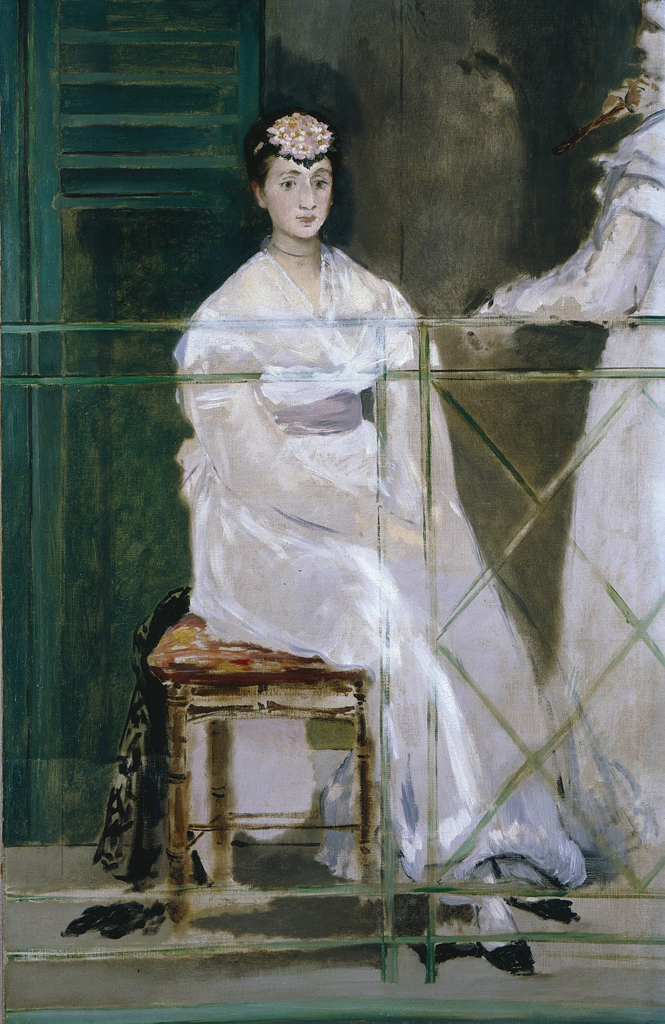 Edouard Manet - Portrait of Mademoiselle Claus