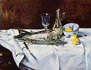 Edouard Manet: Still Life with Salmon
