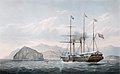 Edward James Duncan (after William John Huggins) - Bentinck passing Aden on his first voyage to India (1844).jpg