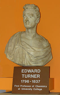 Edward Turner (chemist) British chemist