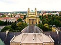 Eger Basilica from roof of Lyceum - panoramio.jpg