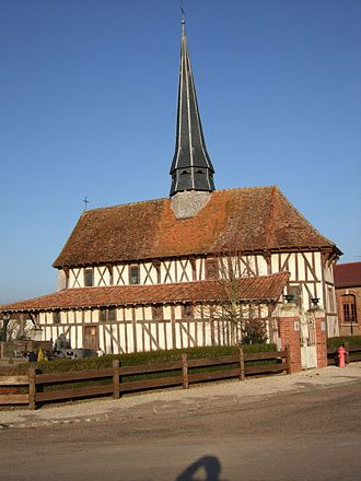 Bailly-le-Franc - Image: Eglise de Bailly le Franc