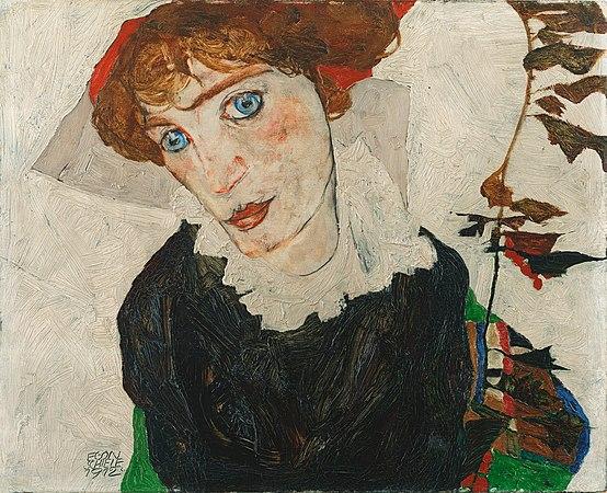 Egon Schiele - Portrait of Wally Neuzil - Google Art Project.jpg