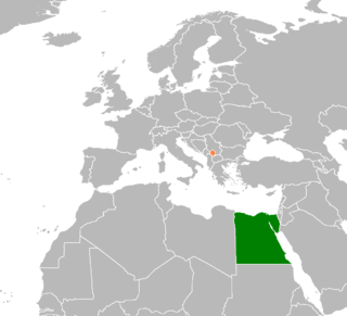 Diplomatic relations between the Arab Republic of Egypt and Kosovo