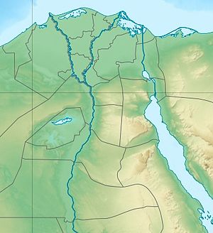 Hyksos is located in Northern Egypt