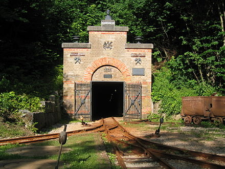 Tiefer Stollen tourist mine