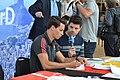 Einkleidung der deutschen Olympiamannschaft Rio 2016 Medientag Hannover 0158.jpg