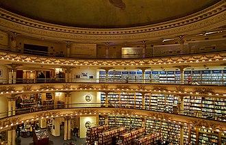 El Ateneo Grand Splendid - Image: El Ateneo Bookstore