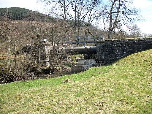 Elan Valley Aqueduct - geograph.org.uk - 1801481