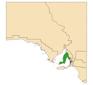 Electoral district of Narungga - 2018 boundaries