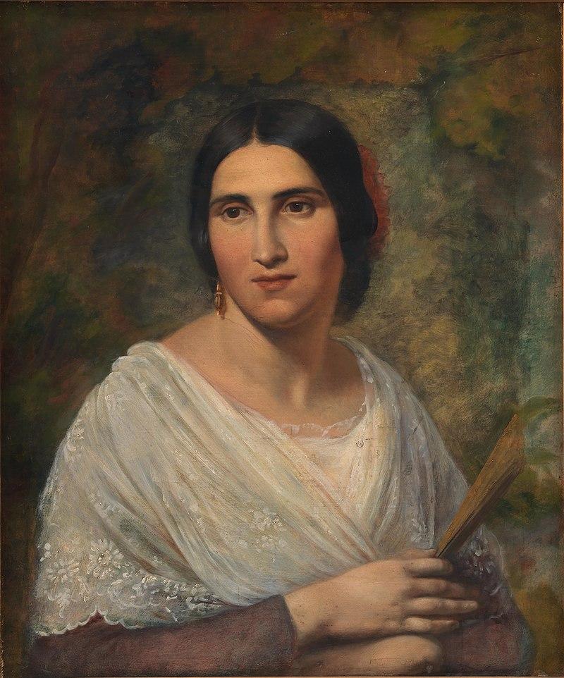 Элизабет Иерихау Бауман - Римская женщина - KMS1234 - Statens Museum for Kunst.jpg