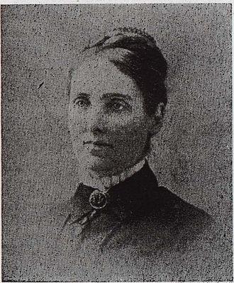 Elizabeth Chamberlain Gibson - Image: Eliza Gibson