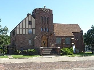 Ellinwood, Kansas - United Methodist Church in Ellinwood