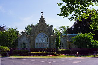 Elmwood Cemetery (Detroit, Michigan) - Elmwood Gatehouse